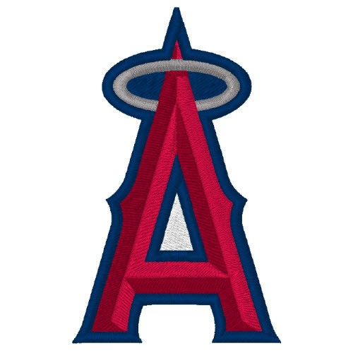 LOS ANGELES ANGELS BASEBALL FAN AUFNÄHER PATCH 5x8cm