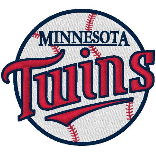 MINNESOTA TWINS SPORT BASEBALL FAN AUFNÄHER PATCH 8x7cm