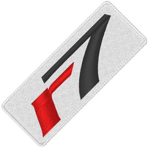 R7 GOLF PROFI SPORT APLIKATION AUFNÄHER PATCH 8x3cm
