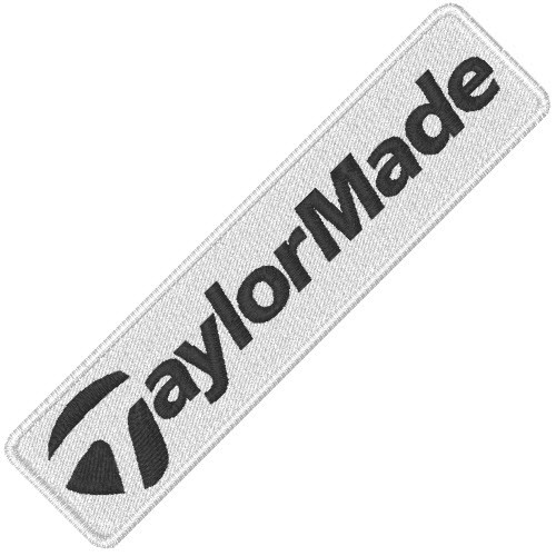 TAYLOR MADE GOLF SPORT APLIKATION AUFNÄHER PATCH 8x2cm