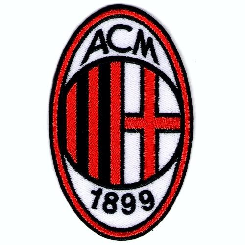 Fußball Aufnäher AC Mailand Milan 6x10cm