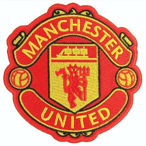 Fußball Aufnäher Manchester United 10x10cm