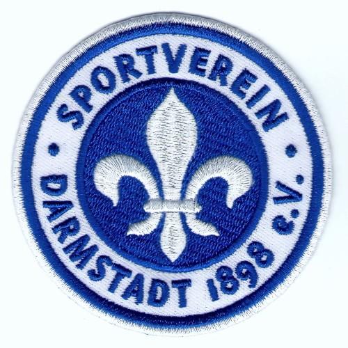 Fußball Aufnäher SV Darmstadt 98 D=8cm