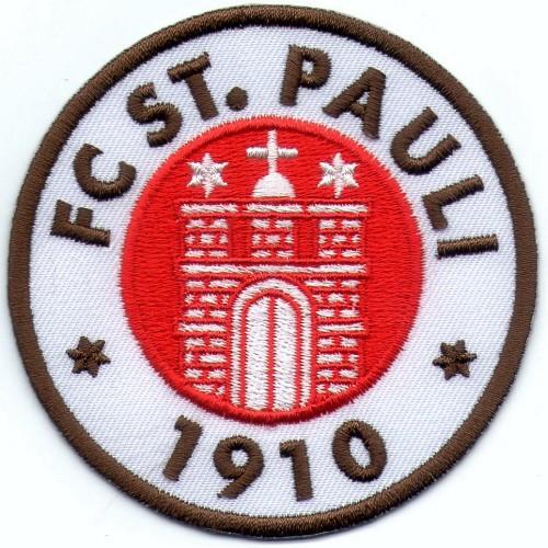 Fußball Aufnäher FC St. Pauli D=8cm
