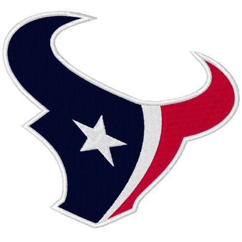 HOUSTON TEXANS NFL FOOTBALL PATCH 10x9cm