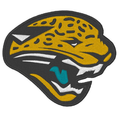 JACKSONVILLE JAGUARS NFL FOOTBALL PATCH 9x8cm