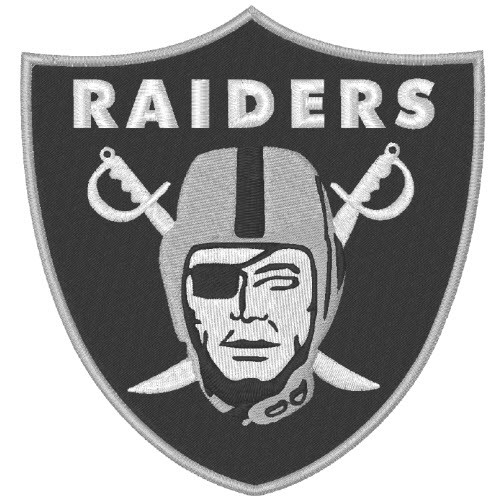 OAKLAND RAIDERS NFL FOOTBALL PATCH 9,5x10cm