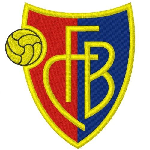 Fußball Aufnäher FC BASEL 100% gestickt 9x10cm