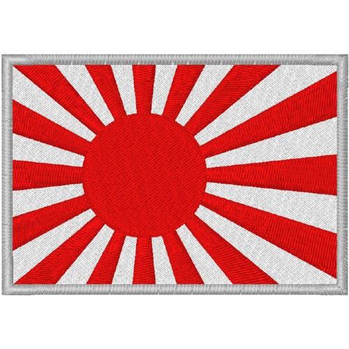 Aufnäher Patch Japanische Kriegsflagge Fahne 8x5,5cm