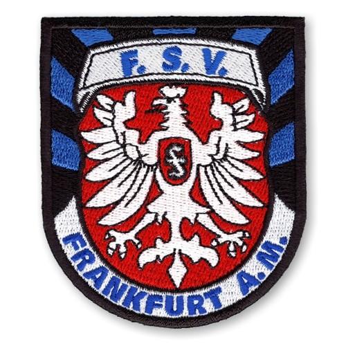 Fußball Aufnäher FSV Frankfurt 6,8x8cm