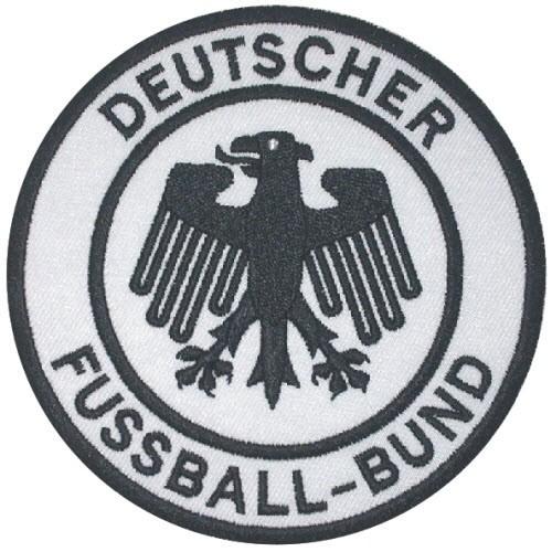 Fußball Aufnäher DFB Deutscher Fußball-Bund D=9,7cm