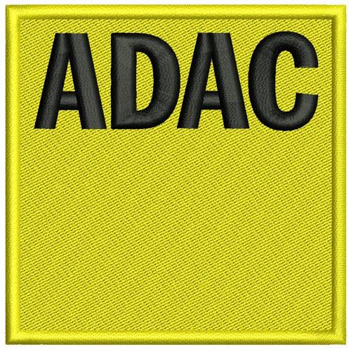 Sponsoren AUFNÄHER PATCH ADAC 8x8cm