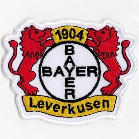 Fußball Aufnäher Bayer 04 Leverkusen 8,5x6,5cm