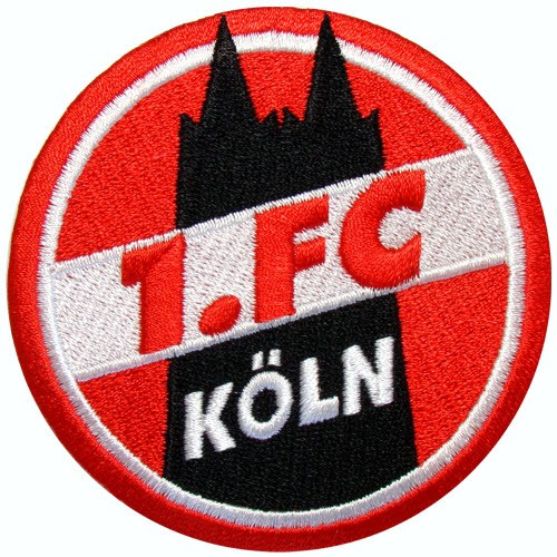 Fußball Aufnäher 1.FC Köln Fußball D=8cm