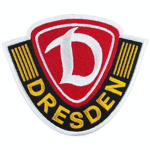 Fußball Aufnäher Dynamo Dresden 8x6,8cm