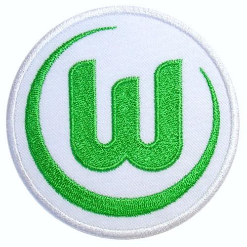 Fussball AUFNÄHER PATCH Fußball VfL Wolfsburg D=8cm