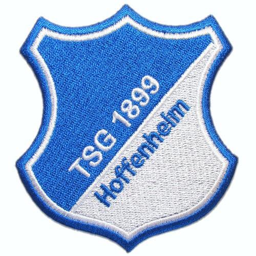 Fußball Aufnäher TSG 1899 Hoffenheim 100% gestickt 7,5x8cm