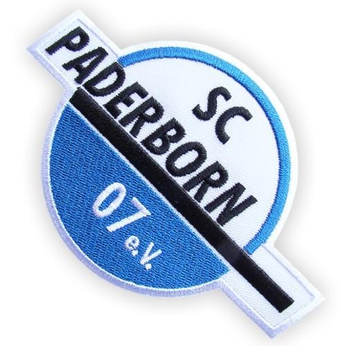 Fussball AUFNÄHER PATCH Fußball SC Paderborn 07 12,5x8cm