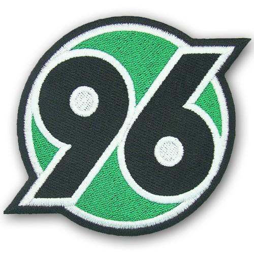 Fußball Aufnäher Hannover 96 100% gestickt 9x8cm