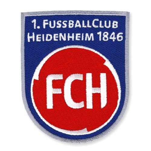 1. FC Heidenheim 1846 AUFNÄHER Fußball FUSSBALL PATCH 6,5x8cm