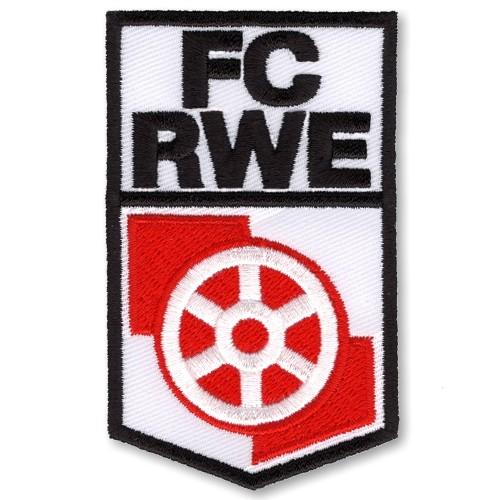 Fußball Aufnäher FC Rot-Weiß Erfurt 5x8cm