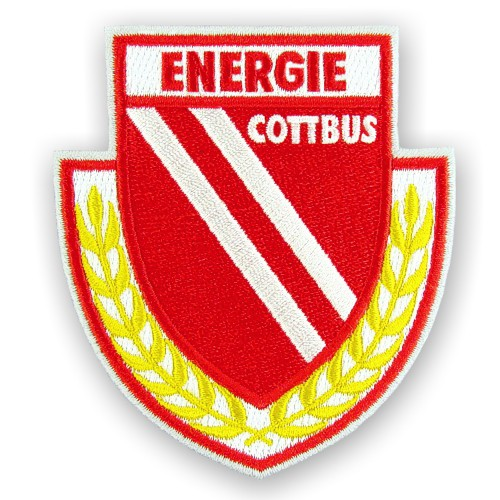 Fußball Aufnäher Energie Cottbus 7x8cm