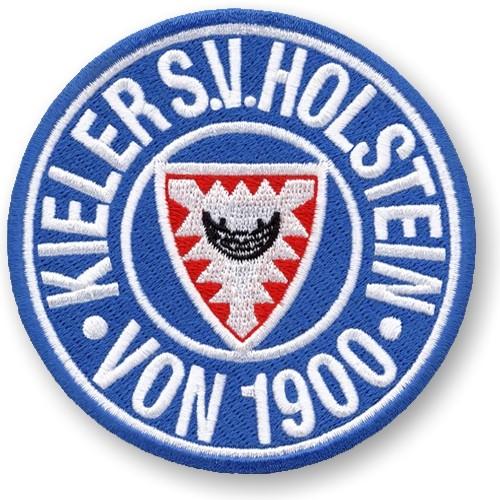 Fußball Aufnäher Holstein Kiel D=8cm