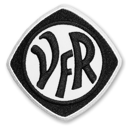 Fußball Aufnäher VfR Aalen 8x8cm