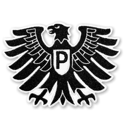 Fußball Aufnäher Preußen Münster 10x7cm
