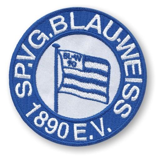Fußball Aufnäher SV Blau Weiss Berlin D=8cm