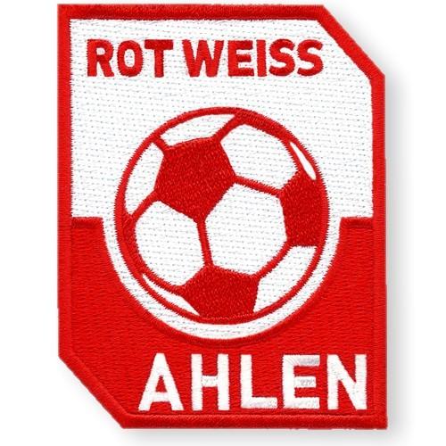 Fußball Aufnäher Rot Weiß Ahlen 100% gestickt 6x8cm