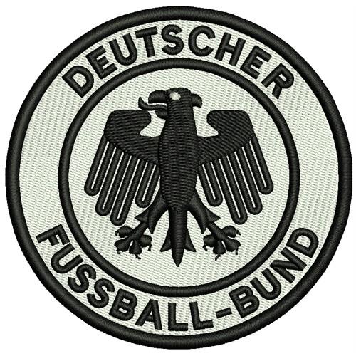 Fußball Aufnäher DFB Deutscher Fußball-Bund D=8cm