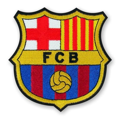 Fußball Aufnäher FC Barcelona 8x8cm