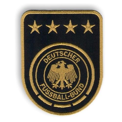 Fußball Aufnäher DFB Weltmeister 7x9cm