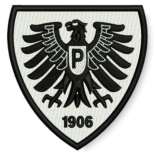 Fußball Aufnäher Preußen Münster 7,6x8cm