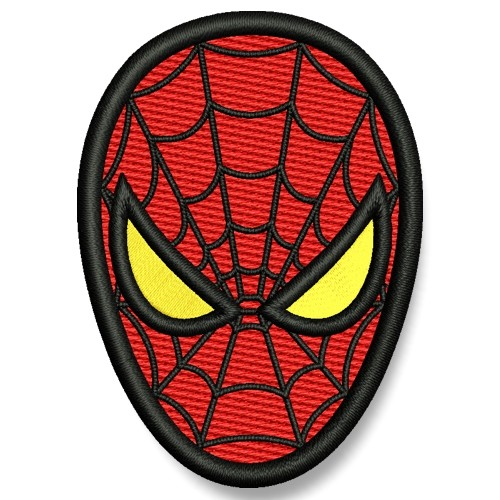 Spider-Man AUFNÄHER PATCH Kinder Superheld Hero 5x6,5cm