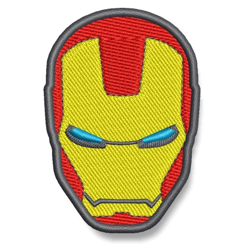 Iron Man AUFNÄHER PATCH Kinder Superheld Hero 5x7cm