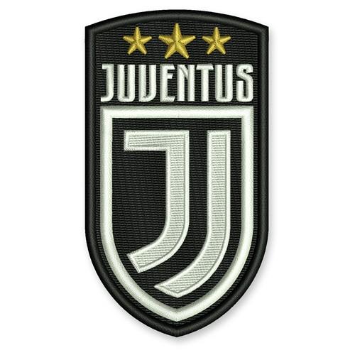 Fußball Aufnäher Juventus Turin 5,5x10cm