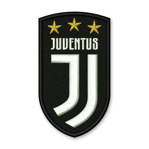 Fußball Aufnäher Juventus Turin 4,5x8cm