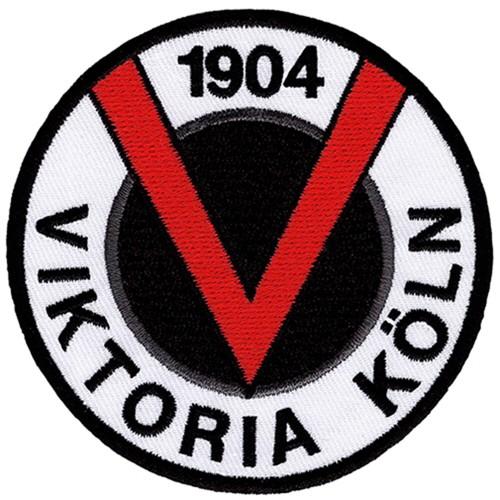 Fußball Aufnäher FC Viktoria Köln D=8cm