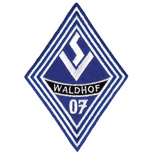 Fußball Aufnäher SV Waldhof Mannheim 7x10cm