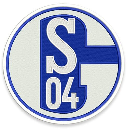 Fußball Aufnäher SCHALKE 04 D=25cm