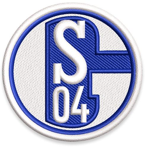 Fußball Aufnäher SCHALKE 04 D=5,5cm