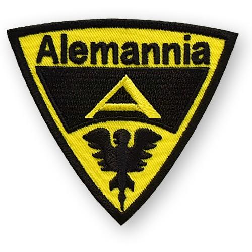 Fußball Aufnäher Alemannia Aachen 8x7cm