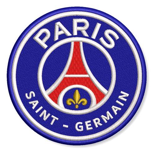 Aufnäher Paris Saint Germain Fußball D=8cm