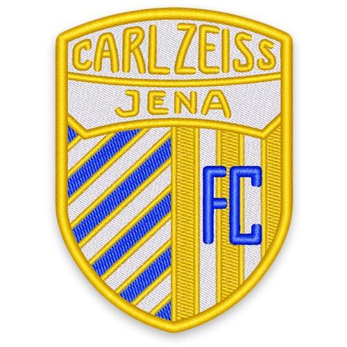 Retro Fußball Aufnäher FC CARLZEISS JENA 6,5x9cm