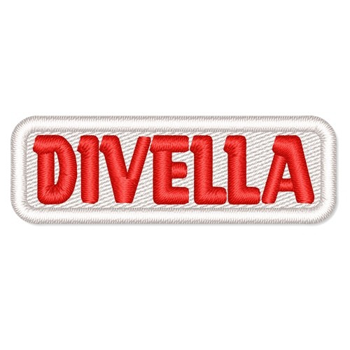 Rally Racing Aufnäher Patch DIVELLA 5x6cm