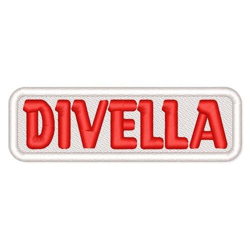 Rally Racing Aufnäher Patch DIVELLA 8x2cm