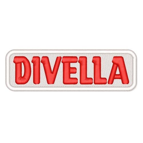 Rally Racing Aufnäher Patch DIVELLA 10x3,2cm