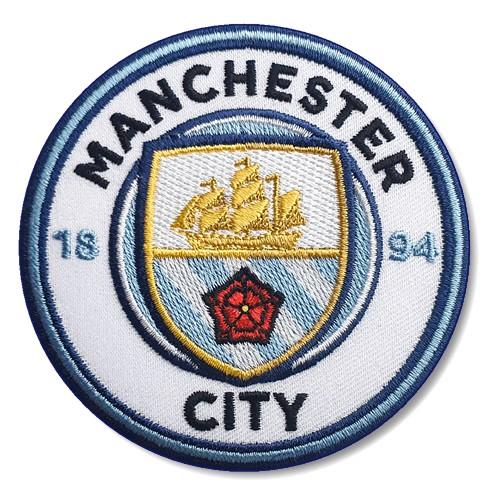 Fußball Aufnäher Manchester City D=8cm